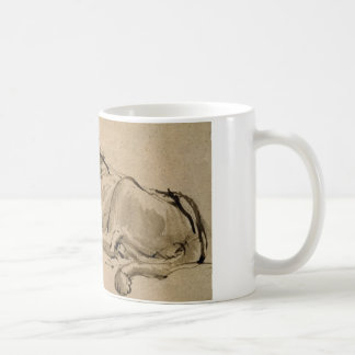 Drawing or a lion by Rembrandt van Rijn Coffee Mug