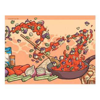 Drawing Recipes - Art Postcard