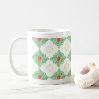 drawing rose coffee mug