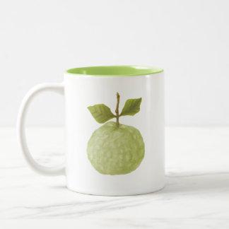 drawing weird guava fruit mug