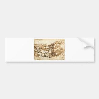 Drawings by Leonardo da Vinci Bumper Stickers
