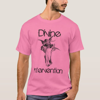 drawings-of-angels-2, Divine, Intervention T-Shirt