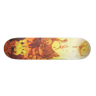 Drawn Skateboard Deck