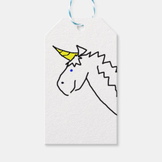 Drawn Unicorn Gift Tags