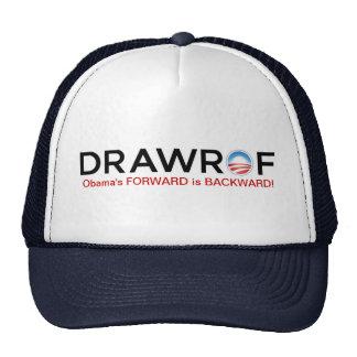DRAWROF - Barack Obama's FORWARD is BACKWARD Hat