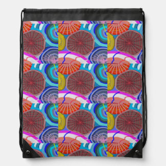 Drawstring Backpack:  ART by NAVIN JOSHI Backpacks