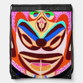 Drawstring Backpack:  ART by NAVIN JOSHI Drawstring Backpacks