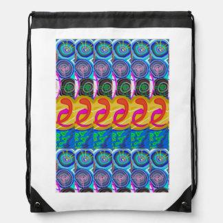 Drawstring Backpack:  ART by NAVIN JOSHI Backpack