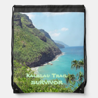 Drawstring BackPack KALALAU TRAIL SURVIVOR