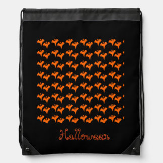 Drawstring Halloween Bags for Kids
