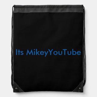 Drawstring Youtube bag