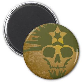 Dreadhead (Dark Green) Magnet