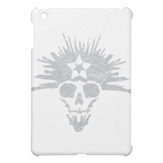 Dreadhead (light grey, distressed) iPad mini cover