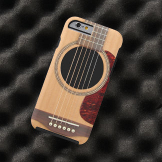 Dreadnought Acoustic 6 string Guitar iPhone 6 case