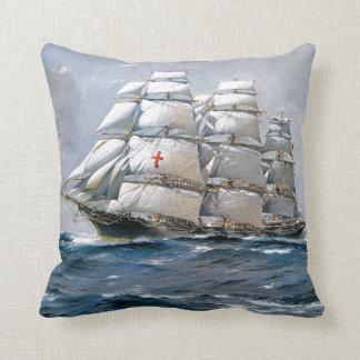 Dreadnought Sailing Clipper Throw Cushions