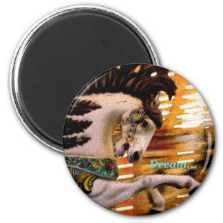 Dream... 6 Cm Round Magnet