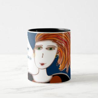 Dream and Believe two-tone 11oz mug