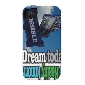 Dream and Reality Vibe iPhone 4 Covers