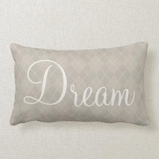 Dream Argyle Pillow