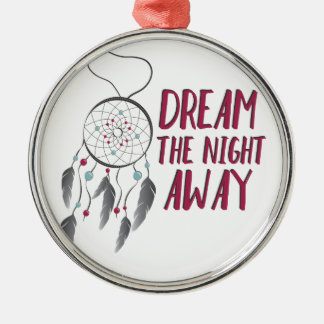 Dream Away Silver-Colored Round Decoration