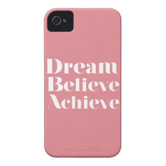 Dream Believe Achieve iPhone 4 Case-Mate Cases