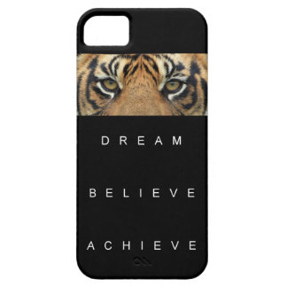 dream believe achieve motivational quote barely there iPhone 5 case
