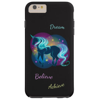 Dream Believe Achieve Unicorn Tough iPhone 6 Plus Case