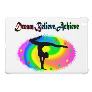 DREAM, BELIEVE, AND ACHIEVE GYMNAST DESIGN iPad MINI CASES