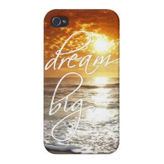 dream big - beach sunset iPhone 4/4S cases