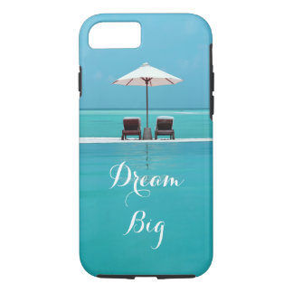 Dream Big Beautiful Blue Sky and Beach Travel iPhone 7 Case
