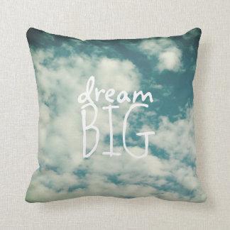 Big Blue Throw Pillows : Dream Big Cushions - Dream Big Scatter Cushions Zazzle.com.au