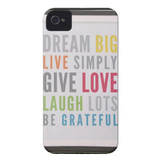 Dream Big iPhone 4 Covers