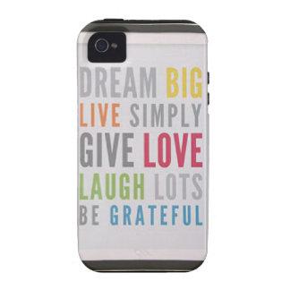 Dream Big Case-Mate iPhone 4 Case