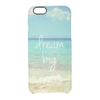Dream big clear iPhone 6/6S case