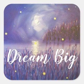 Dream Big Firefly Sticker