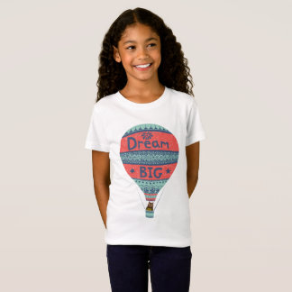 Dream big hot air balloon Indian style decorations T-Shirt