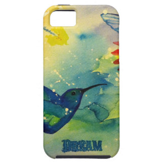 Dream Big! Hummingbird Watercolor Painting Case For The iPhone 5