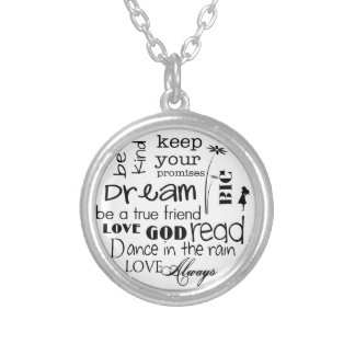 Dream Big Inspirational Necklace