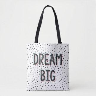 Dream Big Inspirational QuoteTote Bag