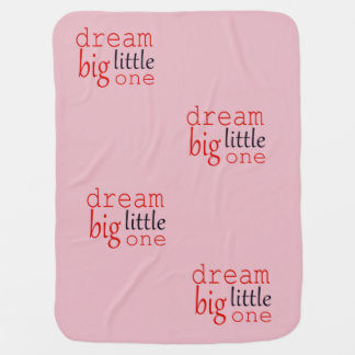 Dream big little one blanket pram blankets