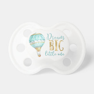 Dream Big Little One Hot Air Balloon Pacifier