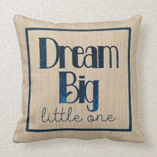 Dream Big Little One Tan Stars Pillow