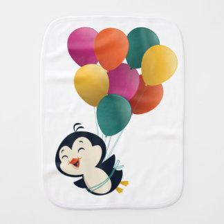 Dream Big little penguin Burp Cloth