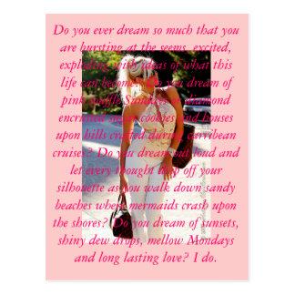 Dream Big, Love Lauren Jones Postcard
