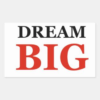 Dream Big Rectangular Sticker