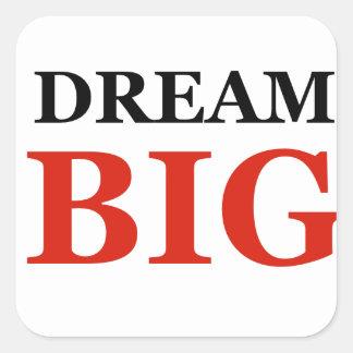 Dream Big Square Sticker