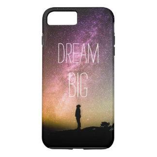 Dream Big   Starry Stars Sky Motivational Quote iPhone 7 Plus Case