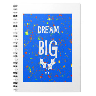 DREAM BIG Template DIY Resellers Customers QUOTES Spiral Notebook