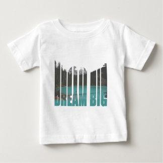 Dream Big Typography Baby T-Shirt