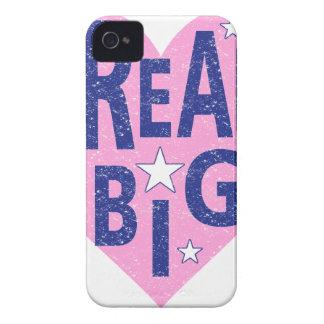 Dream big vintage heart Case-Mate iPhone 4 cases